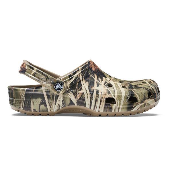 Crocs CLASSIC REALTREE khaki színű férfi cipő