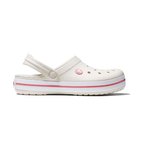 Crocs CROCBAND női cipő bézs / piros