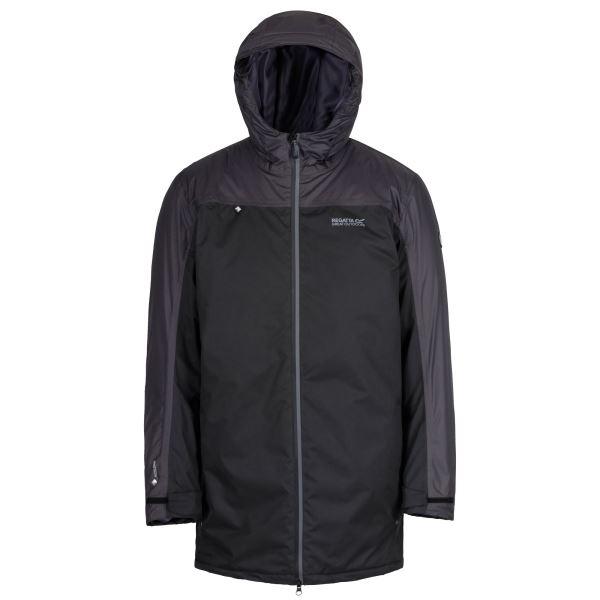 Férfi szigetelt kabát Regatta LARGO fekete