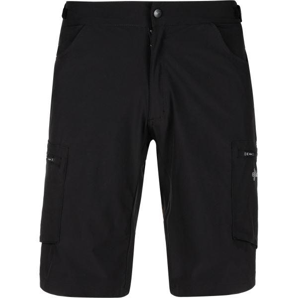 Férfi kerékpáros nadrág KILPI TRACKEE-M fekete