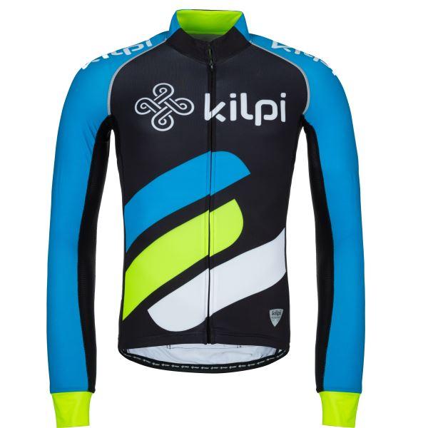 Férfi kerékpáros mez KILPI RAPITA-M kék