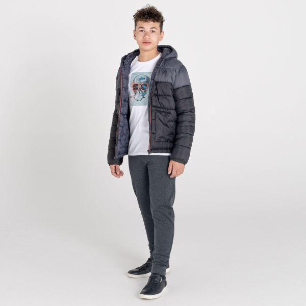Fiúk Dare2b pulóver nadrág IMPASSIVE sötétszürke