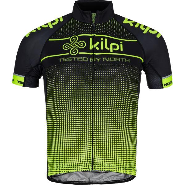 Férfi kerékpáros mez KILPI ENTERO-M sárga