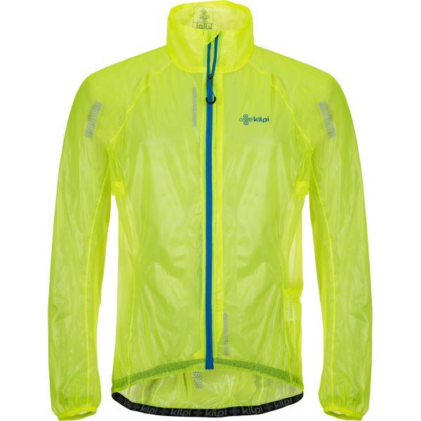 Férfi ultrakönnyű kabát KILPI RAINAR-M sárga
