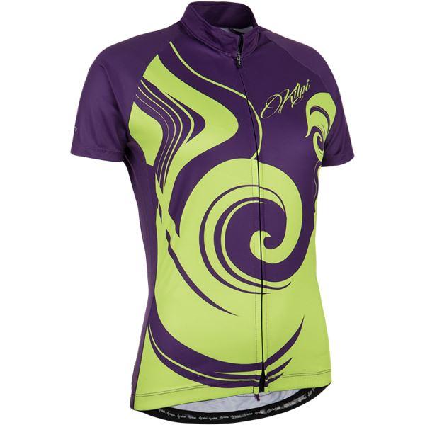 Női kerékpáros mez KILPI FOXIERA-W lila