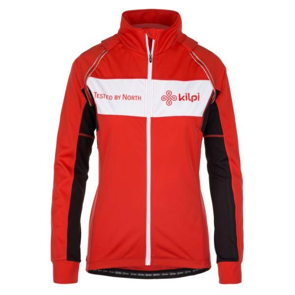 Női funkcionális kabát KILPI ZESTER-W piros