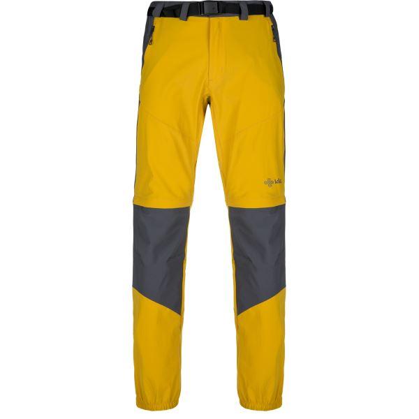 Férfi szabadtéri nadrág KILPI HOSIO-M sárga