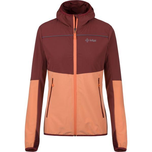 Női szabadtéri kabát KILPI JOSHUA-W narancs