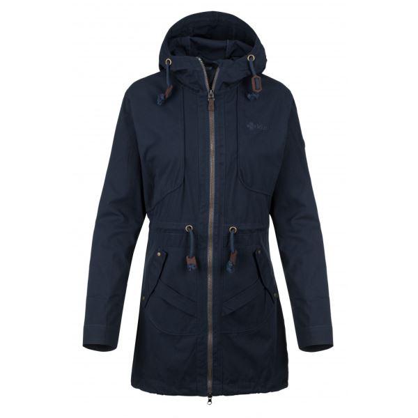 Női kabát KILPI PAU-W sötétkék