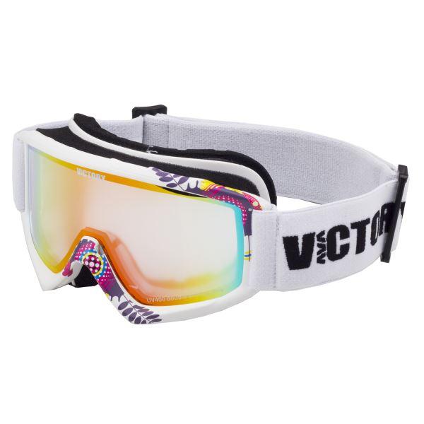 Gyerek síszemüveg Victory SPV 630 fehér