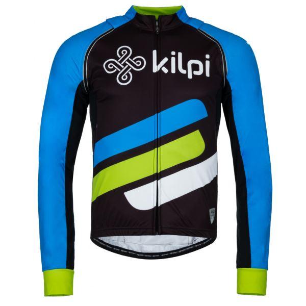 Férfi kerékpáros kabát KILPI PALM-M kék