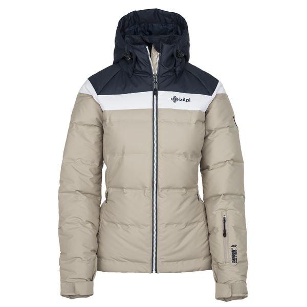 Női téli kabát KILPI SYNTHIA-W bézs