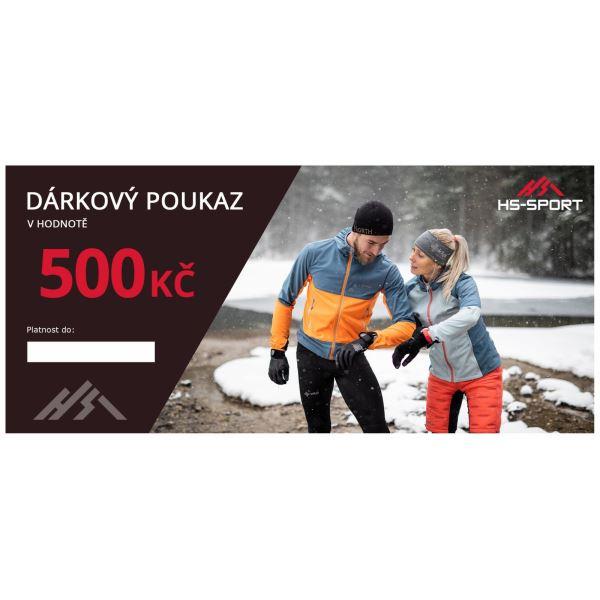 Ajándék utalvány márkás ruhákhoz 500 CZK értékben