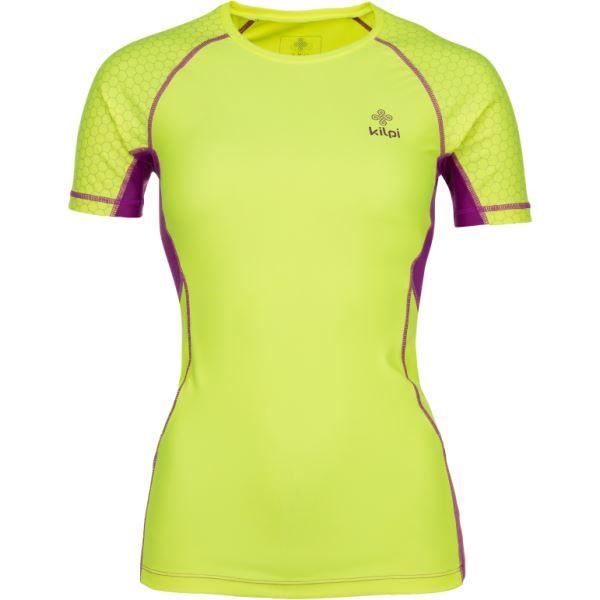 Női funkcionális póló KILPI COMBO-W sárga