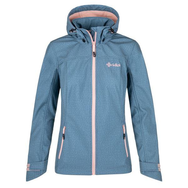 Női softshell kabát KILPI RAVIA-W kék